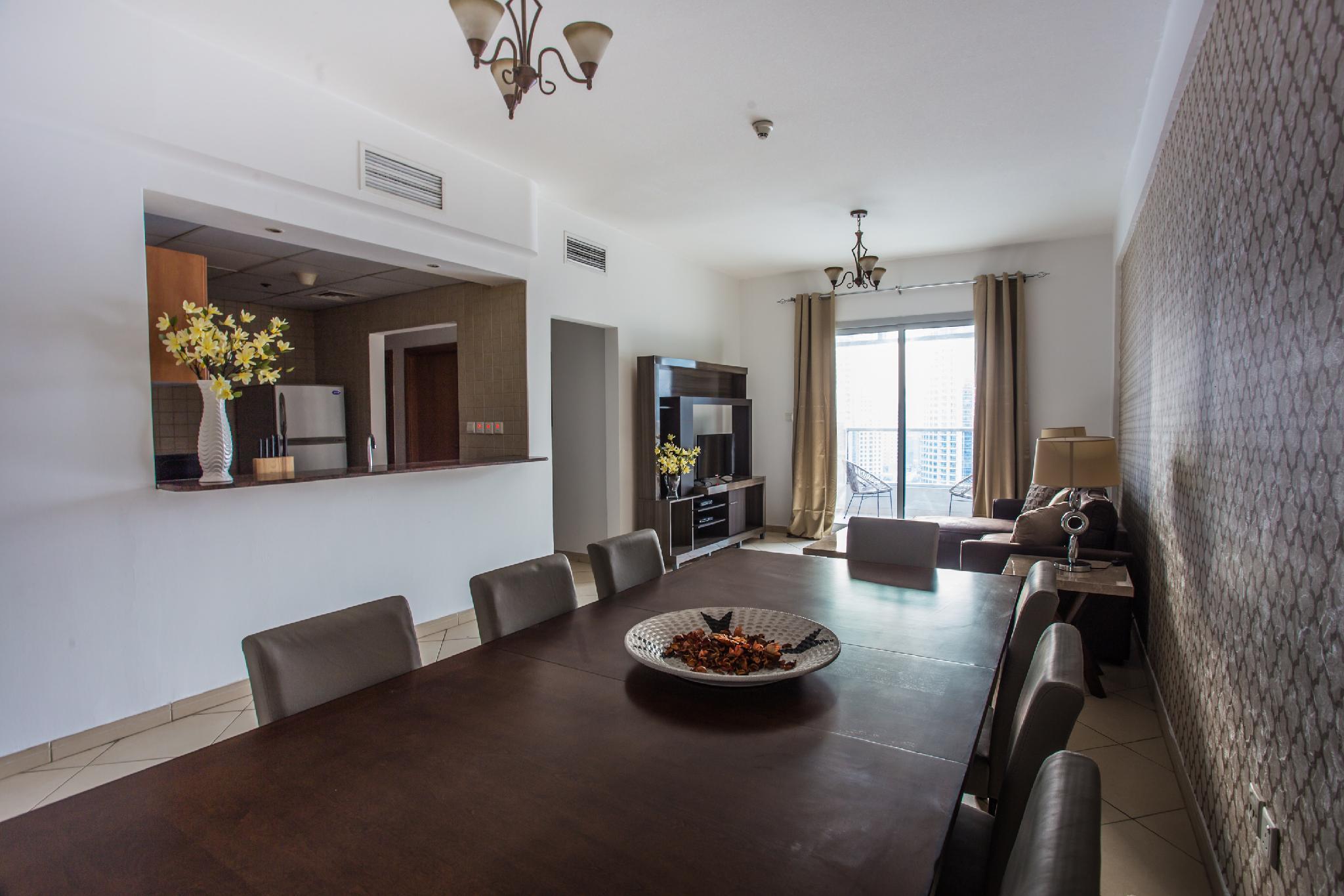 Deluxe Dubai Marina Sea View Apartment, Pool&View – Dubai 4
