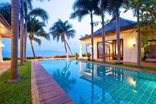 Beautiful 5 Bedroom Koh Samui Villa