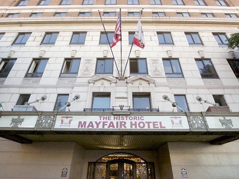 los angeles the mayfair hotel in united states north america. Black Bedroom Furniture Sets. Home Design Ideas