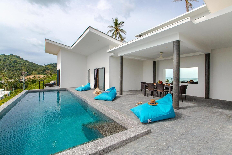 Villa Sophie Near the beach วิลลา 3 ห้องนอน 2 ห้องน้ำส่วนตัว ขนาด 200 ตร.ม. – เฉวงน้อย