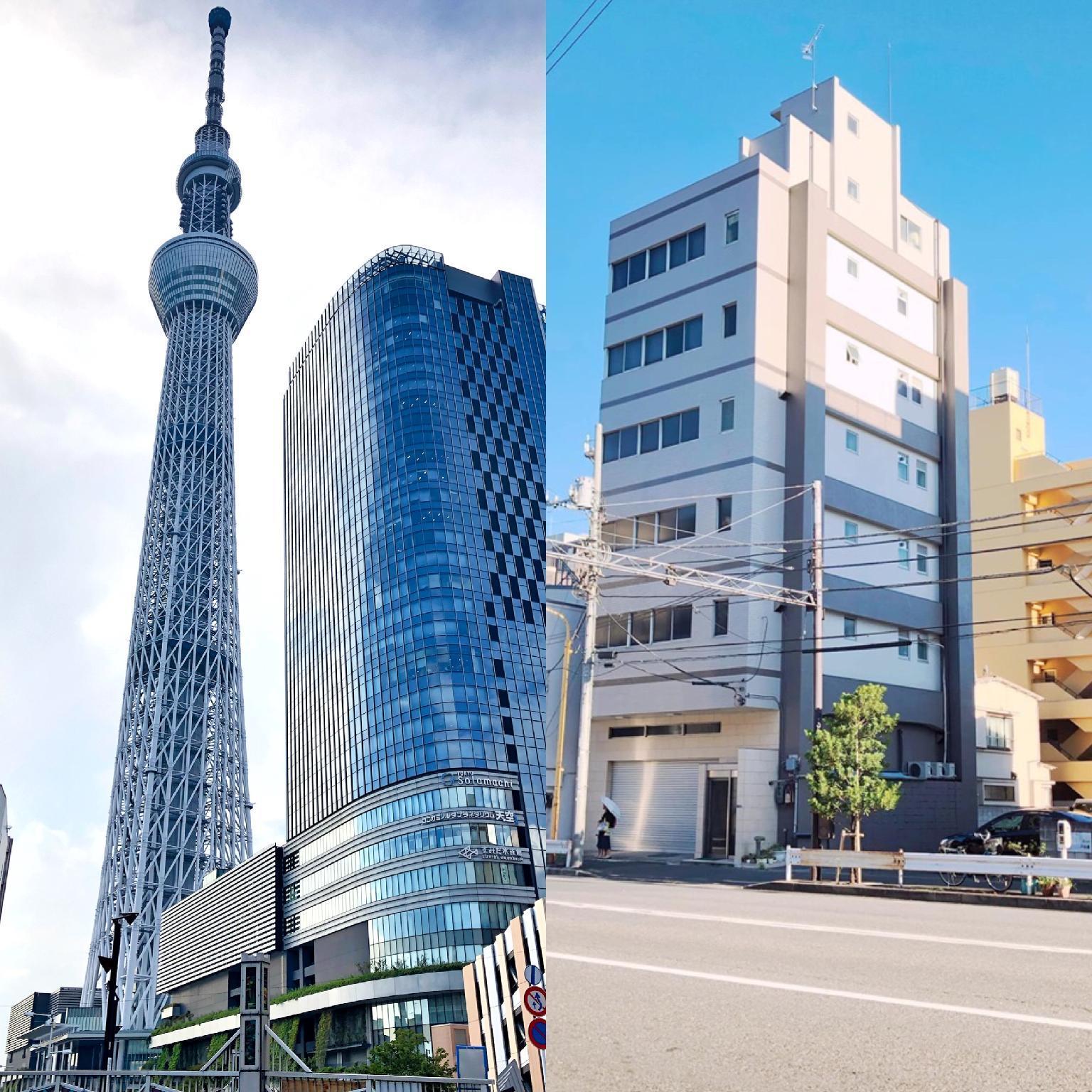 SKYTREE B5 Oshiage 5 Min Near Asakusa Kinshicho