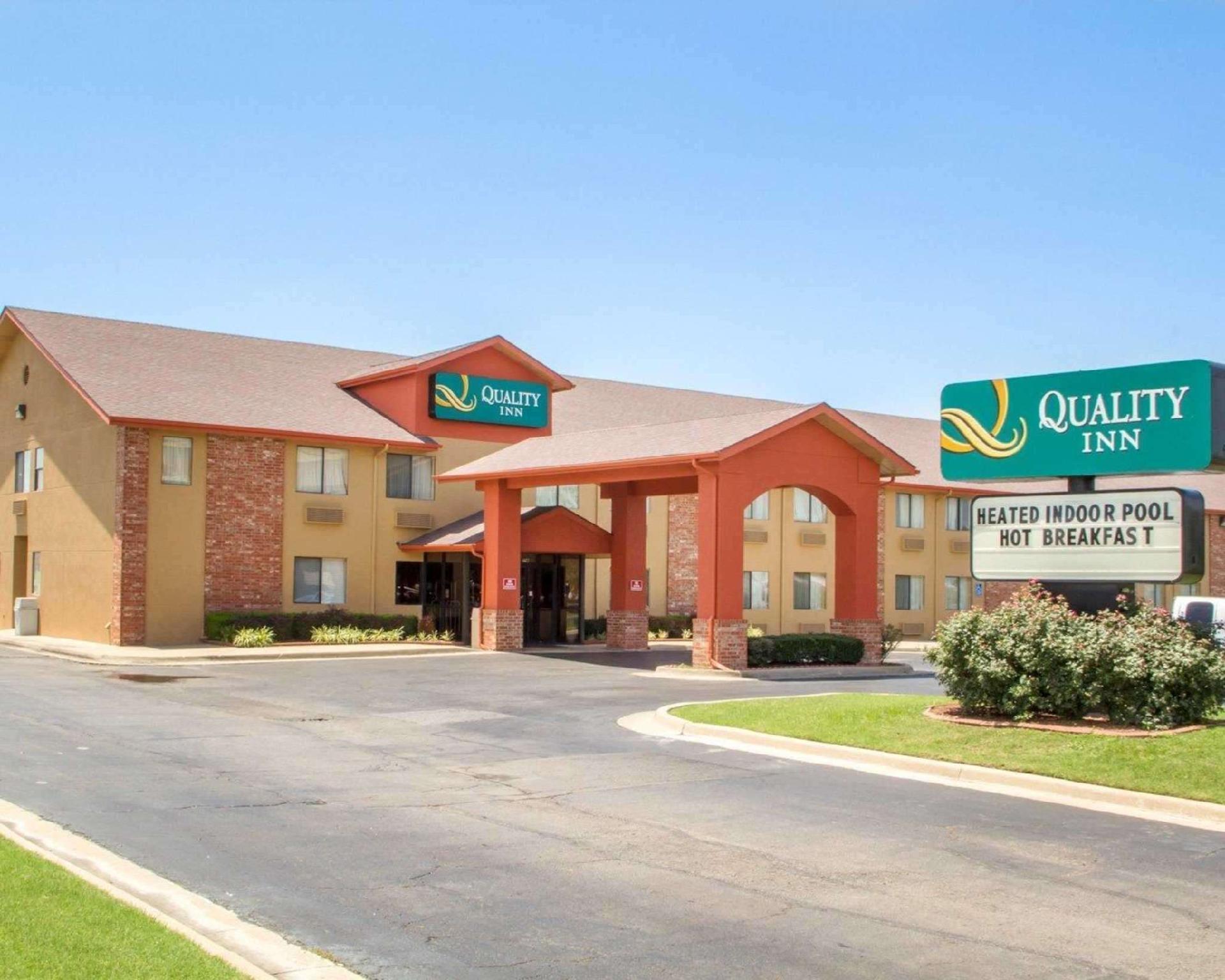 Quality Inn Broken Arrow   Tulsa