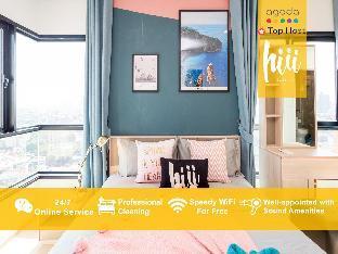 [スクンビット]アパートメント(60m2)| 2ベッドルーム/2バスルーム [hiii] OverRainbow|RooftopPool/Ramkhamhaeng-BKK219