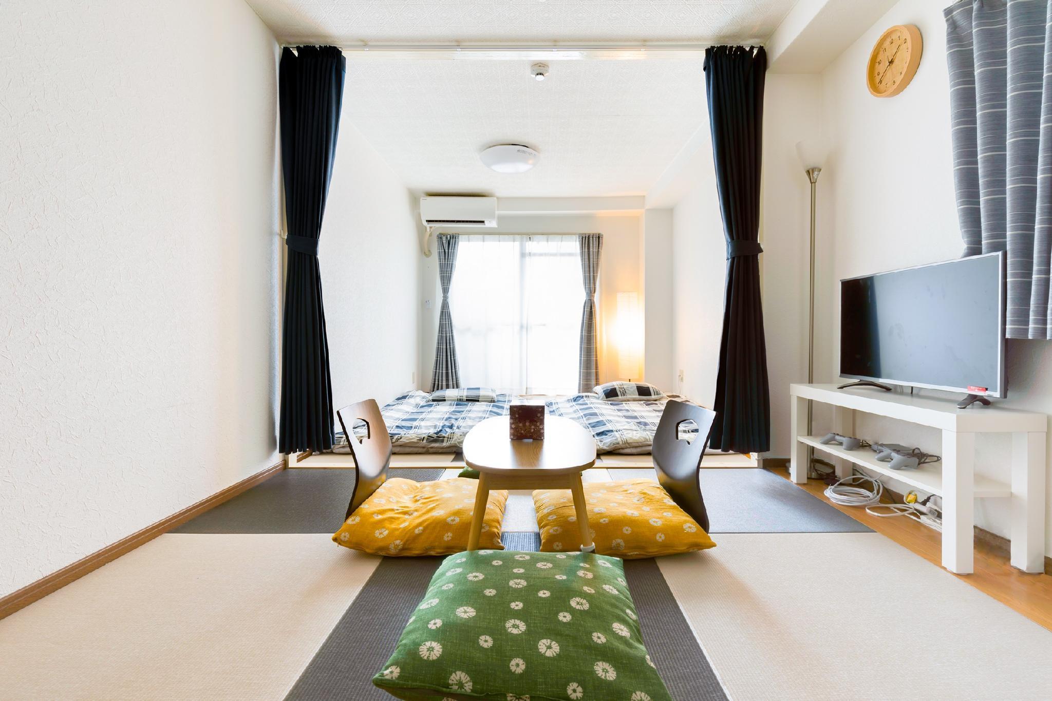 G120 Modern Japanese Tatami Room+MX 4PPL+free Wifi