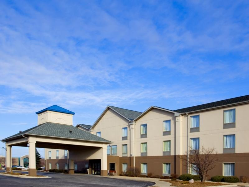 Holiday Inn Express Hotel And Suites Bourbonnais Kankakee Bradley