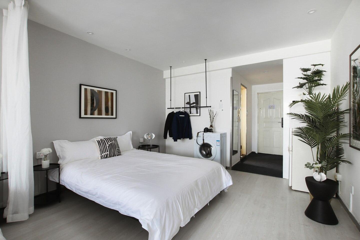 Sweet White   Boutique Design Apartment Twin Room