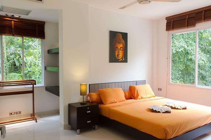 2 Bedroom Apartment in Tropical Setting. อพาร์ตเมนต์ 2 ห้องนอน 2 ห้องน้ำส่วนตัว ขนาด 115 ตร.ม. – กมลา