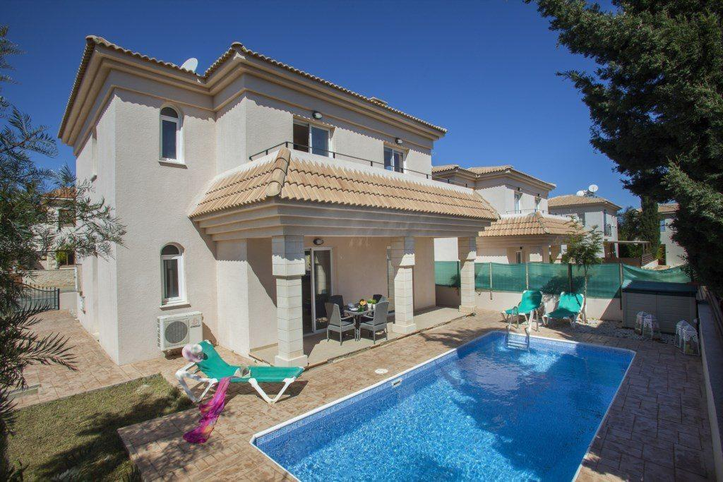 Villa Blue Water With Extra Large Private Pool Protaras Villa 75