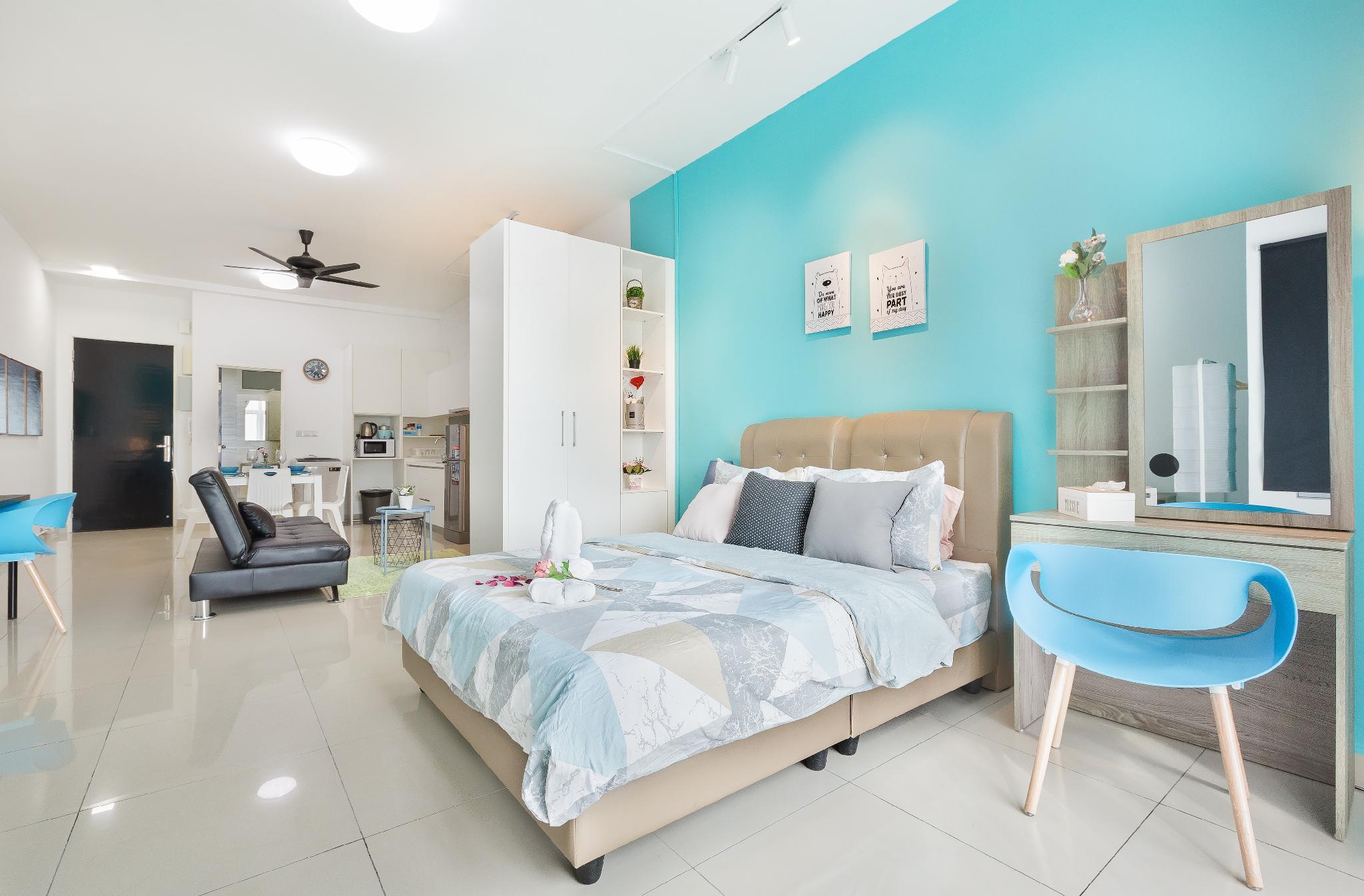 Twin Galaxy  Cozy Studio Suite @ Johor Bahru