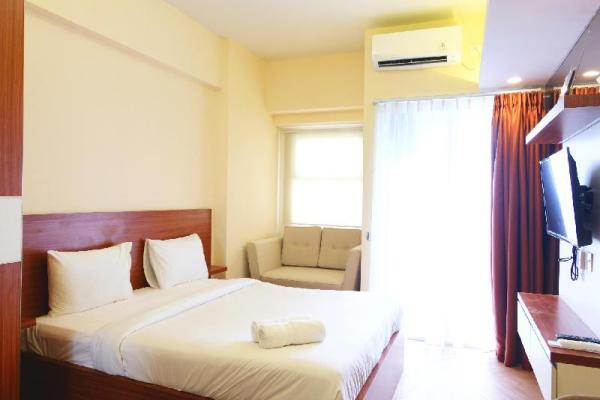 Comfy Studio Apartment Parkland Avenue By Travelio Tangerang