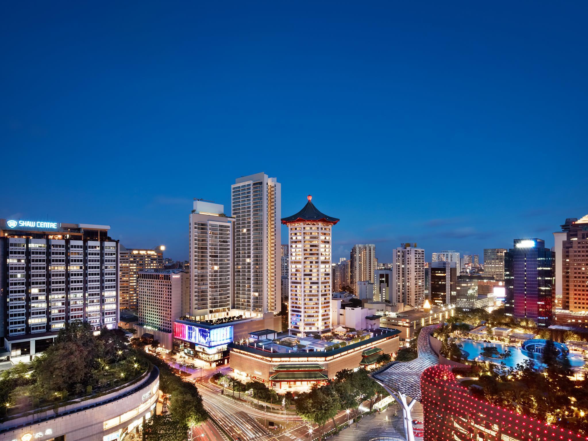 Singapore Marriott Tang Plaza Hotel 3