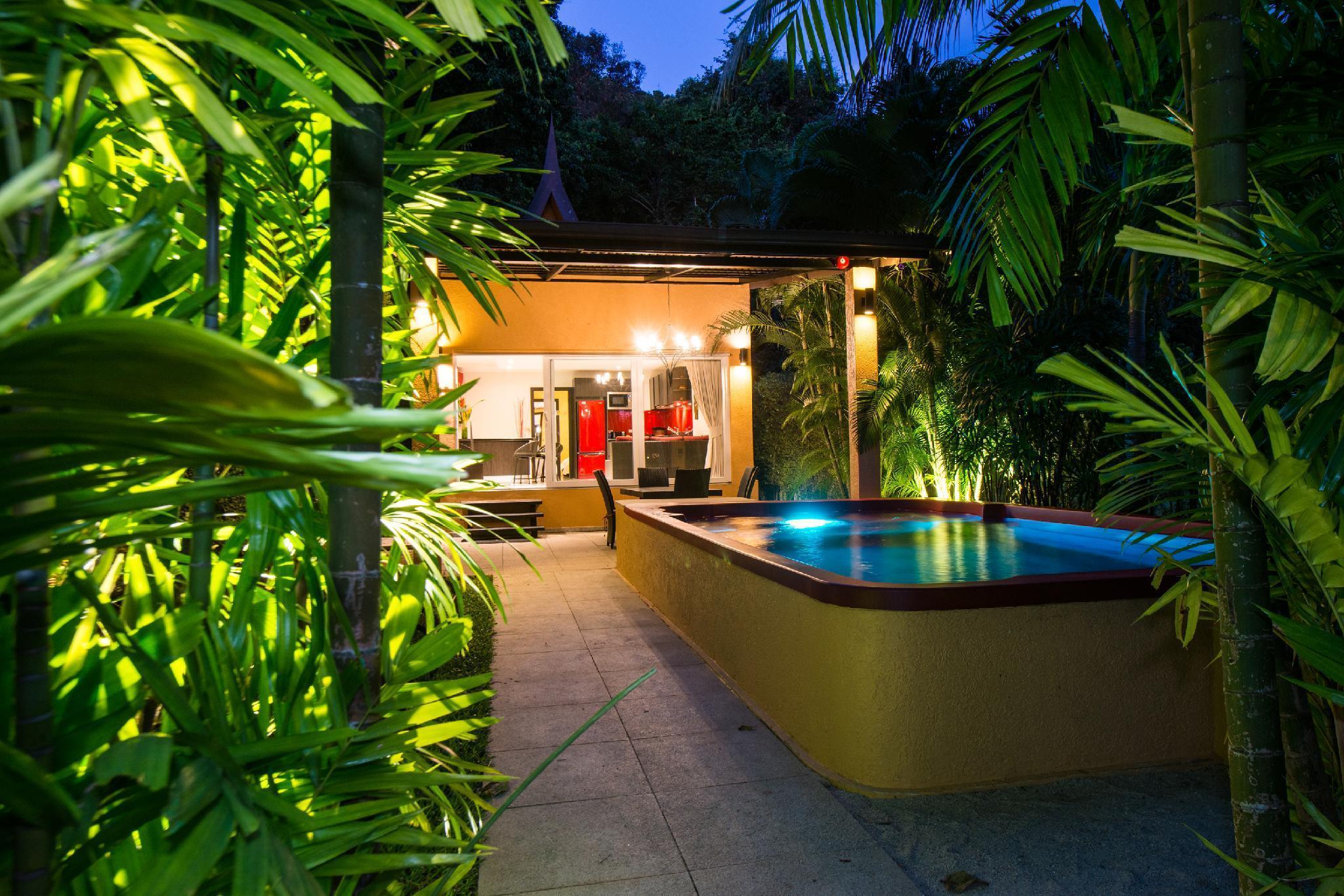 Red Sunset Villa  Private Pool  Hotel Managed วิลลา 3 ห้องนอน 3 ห้องน้ำส่วนตัว ขนาด 120 ตร.ม. – คลองสน