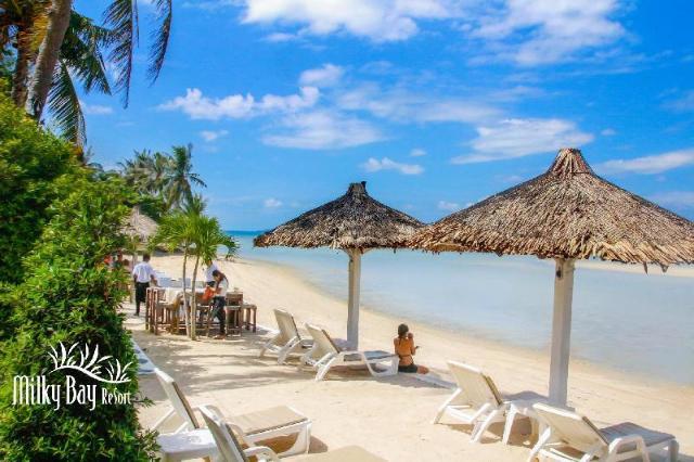 มิลค์กี้ เบย์ รีสอร์ท – Milky Bay Resort