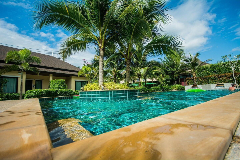 The Peaceful Jungle Pool Villa วิลลา 3 ห้องนอน 3 ห้องน้ำส่วนตัว ขนาด 110 ตร.ม. – อ่าวนาง