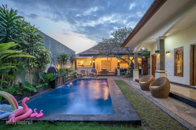 centrally located villa with traditional style