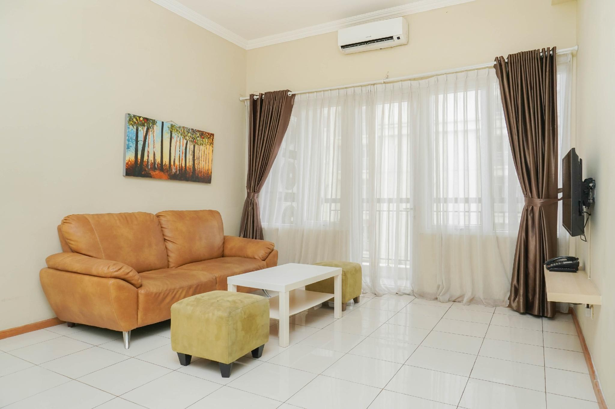 3BR @ Grand Palace Kemayoran With View By Travelio