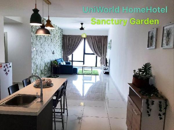 Designer Garden 2 BR Unit Mid Valley, JB Central Johor Bahru