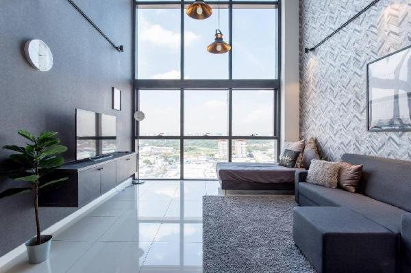 PROMO ! Stylish Cool Duplex| 8mins to Sunway 6pax Kuala Lumpur