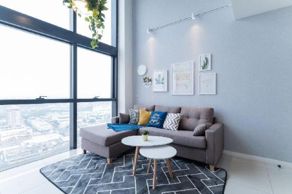 NEW! PROMO Nordic Garden Duplex 8mins to Sunway Kuala Lumpur