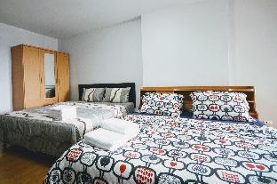 [スクンビット]アパートメント(20m2)| 1ベッドルーム/1バスルーム at UdomsukSkytrain,6-Person, WiFi/Pool/Gym