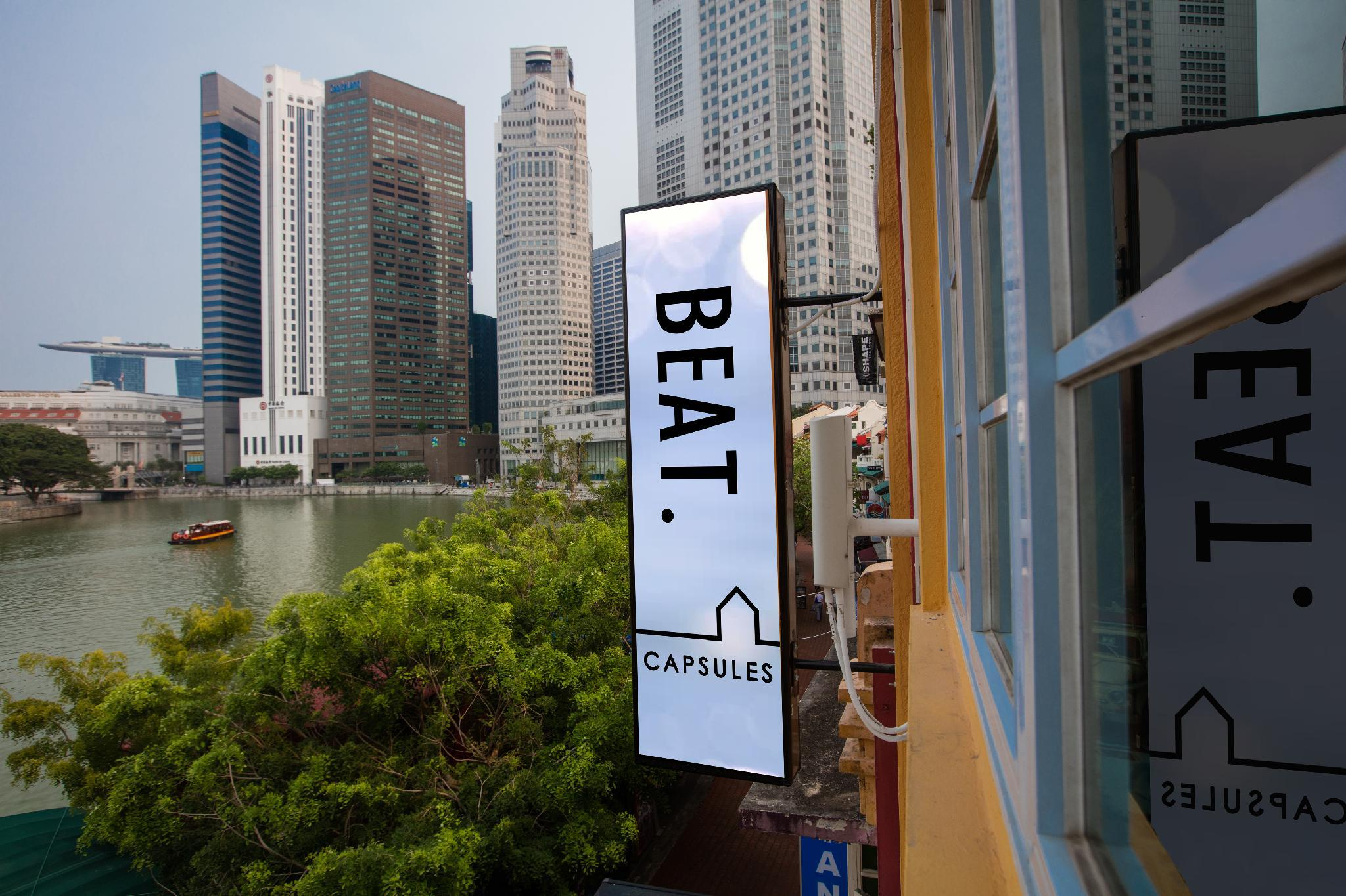 BEAT. Capsule Hostel @ Boat Quay