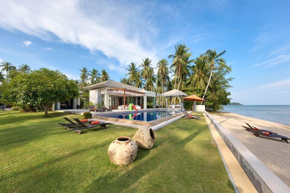 La Lagune บ้านเดี่ยว 5 ห้องนอน 5 ห้องน้ำส่วนตัว ขนาด 4500 ตร.ม. – หัวถนน