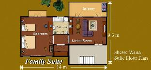 シウィ ワナ スイート リゾート Shewe Wana Suite Resort