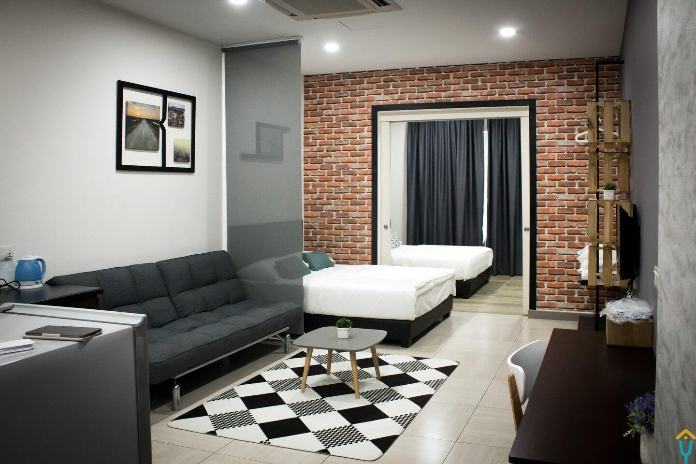 Loft Design Studio With Mountain View