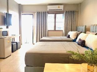 [ラチャダーピセーク]スタジオ アパートメント(30 m2)/1バスルーム Cozy6paxBalcony MRT Phraram9/4Central Rama9