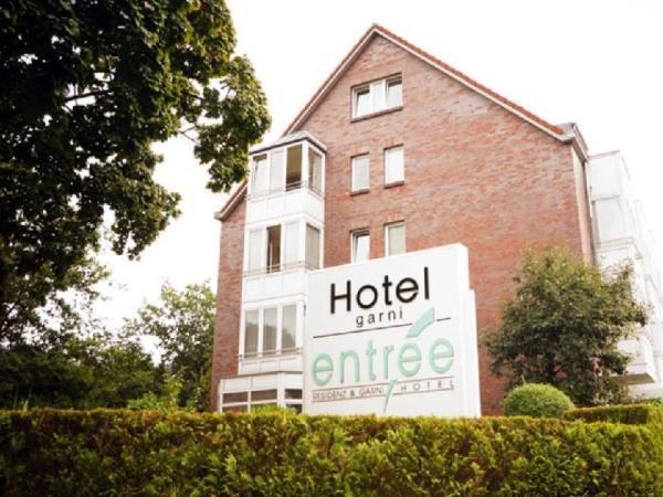 Entree Hotel Gross Borstel Garni Hamburg