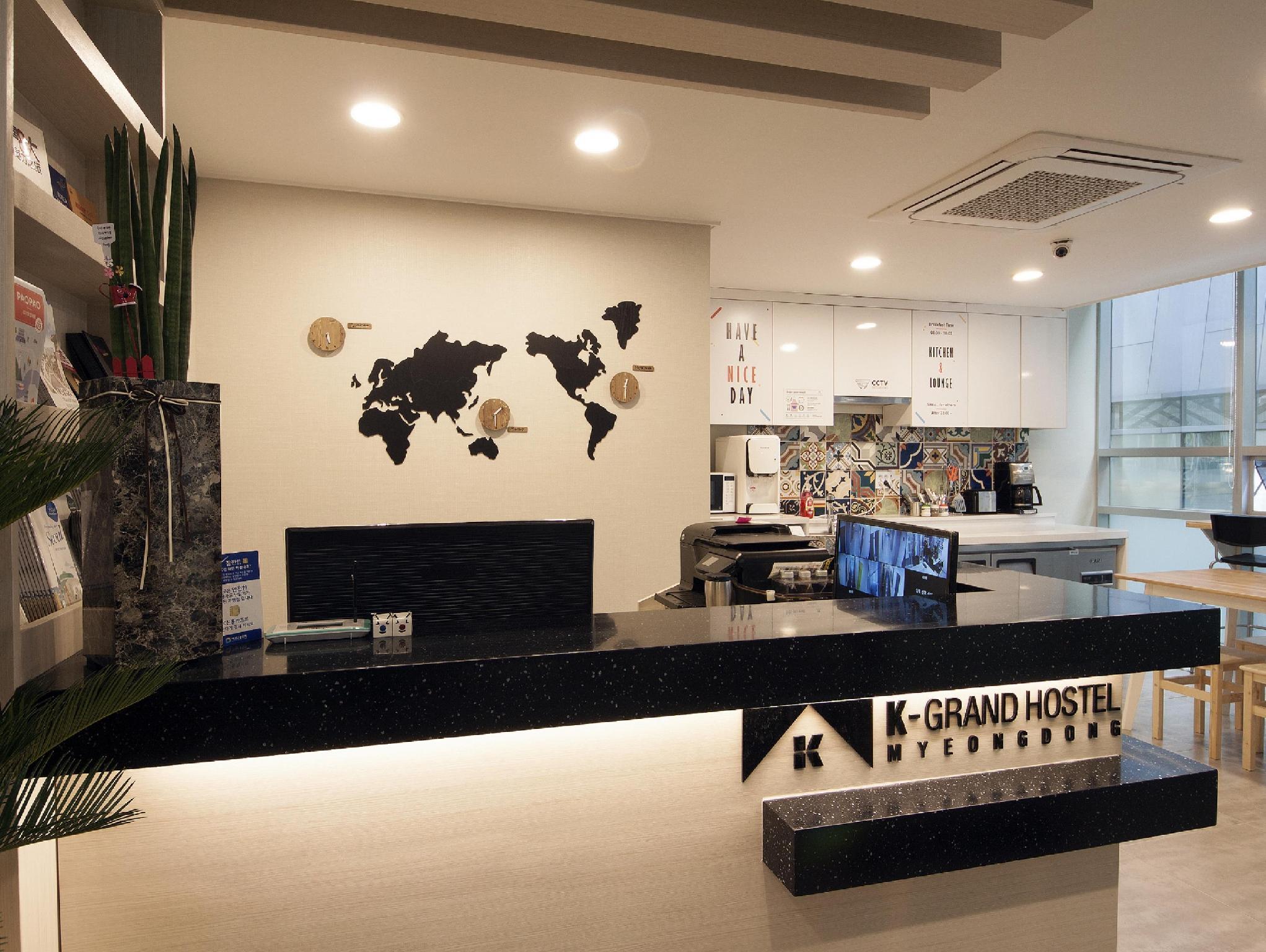 K Grand Hostel Myeongdong