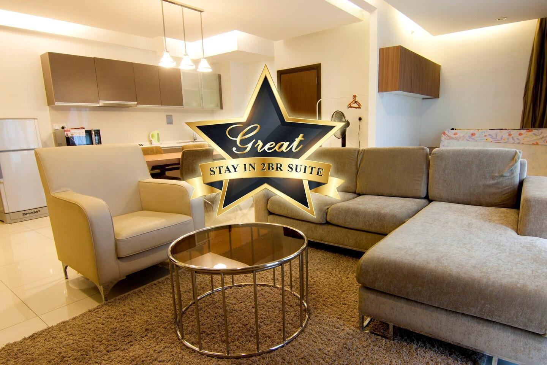 Cozy And Elegance 2 BR Suite @ Regalia KL City