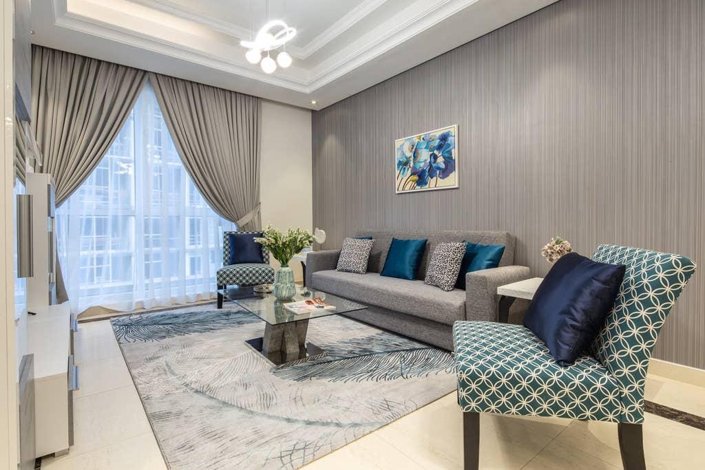 Uniquely Elegant 2BR In Prestigious Downtown Dubai