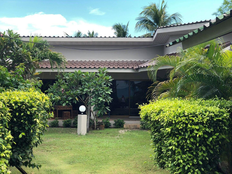 beautiful family villa with private beach access วิลลา 2 ห้องนอน 1 ห้องน้ำส่วนตัว ขนาด 200 ตร.ม. – ท้องศาลา