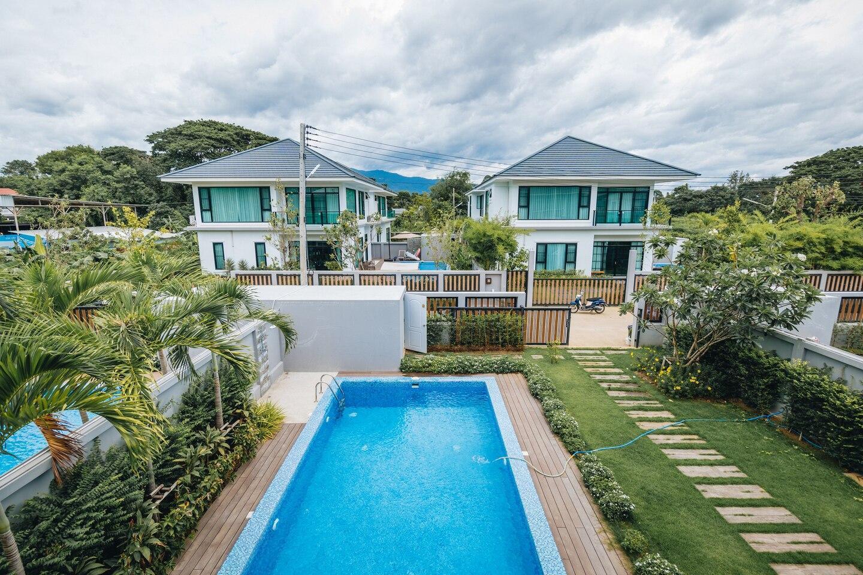 Madami1//Urban area Chiang Mai Pool Villa วิลลา 4 ห้องนอน 4 ห้องน้ำส่วนตัว ขนาด 190 ตร.ม. – เจริญเมือง