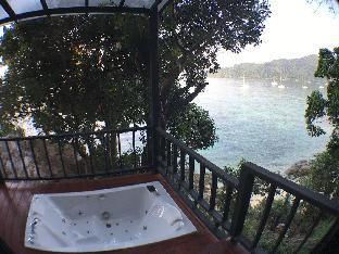 [サンセットビーチ]バンガロー(35m2)| 1ベッドルーム/1バスルーム Seaview Jacuzzi bungalow at Sunset Private beach*
