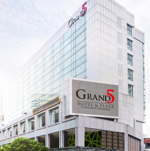 Grand 5 Hotel & Plaza Sukhumvit Bangkok แกรนด์ 5 โฮเต็ลแอนด์พลาซา สุขุมวิท กรุงเทพฯ