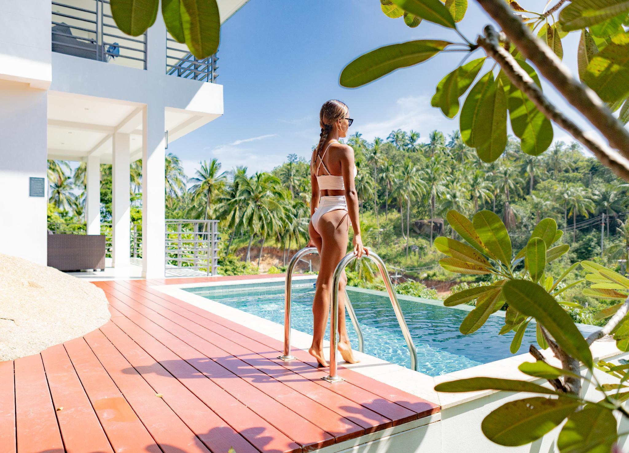 VILLA SABAAI | Sea View-Pool-Privacy-Service วิลลา 2 ห้องนอน 2 ห้องน้ำส่วนตัว ขนาด 140 ตร.ม. – หาดละไม