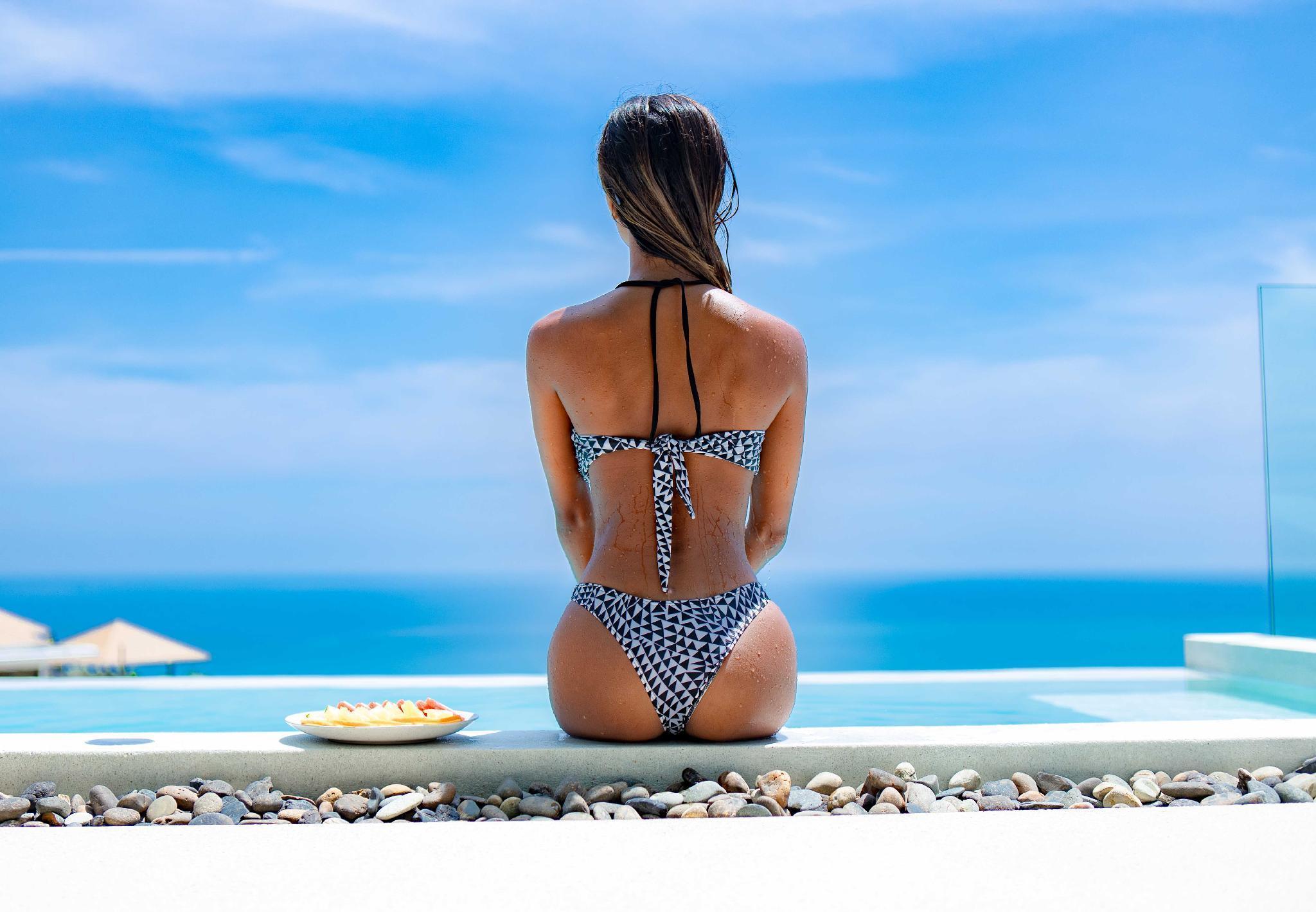 VILLA OCEAN LUXE | Sea View-Pool-Privacy-Service วิลลา 3 ห้องนอน 3 ห้องน้ำส่วนตัว ขนาด 140 ตร.ม. – เฉวงน้อย