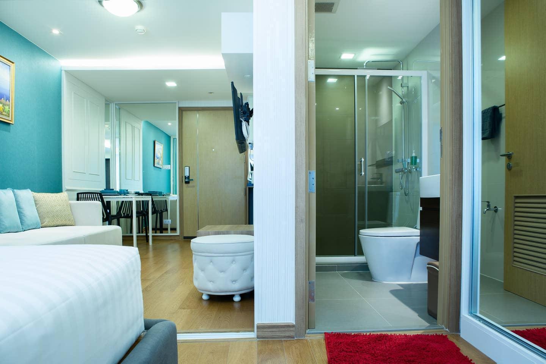 Breezy Condo Next To St Food&Night Life JT108 สตูดิโอ บ้านเดี่ยว 1 ห้องน้ำส่วนตัว ขนาด 35 ตร.ม. – สุขุมวิท
