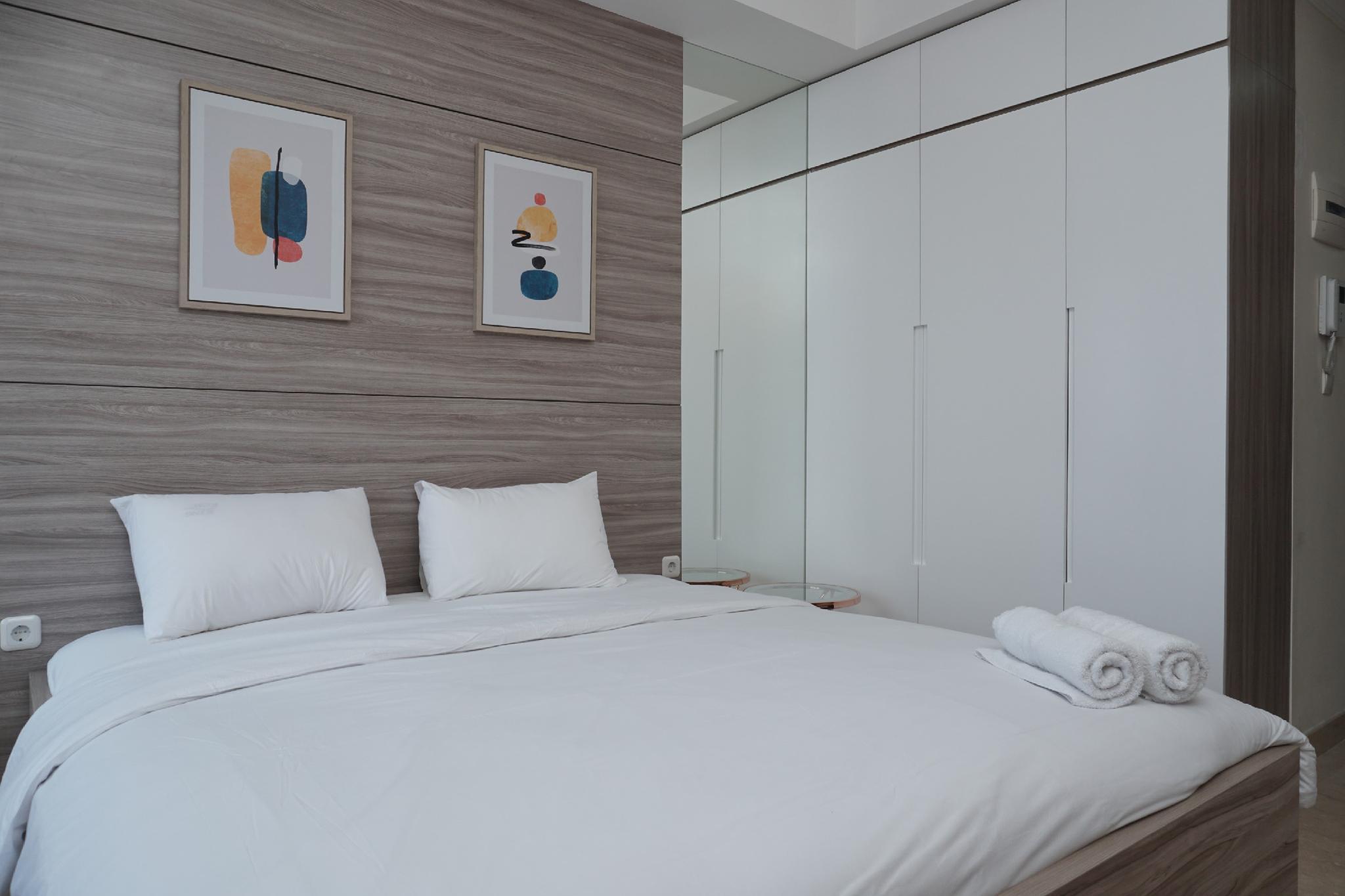 Tranquil Studio Menteng Park Apartment By Travelio