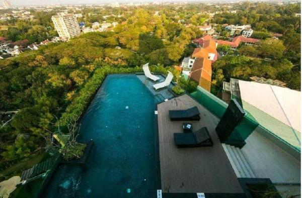 Astra Downtown Apartment City view (12 ) Chiang Mai