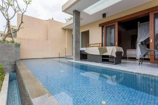 1BR River Front Lower Villa + Private Pool+B'fast.