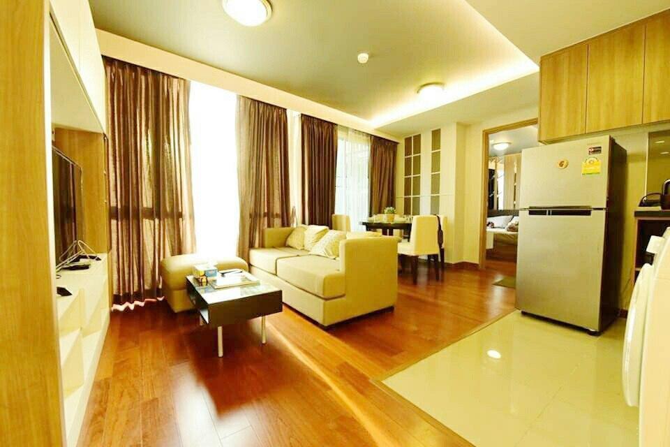 Cozy Moment 2 Beds, Bumrungrad Hosp, BTS Nana/Asok บ้านเดี่ยว 2 ห้องนอน 1 ห้องน้ำส่วนตัว ขนาด 50 ตร.ม. – สุขุมวิท