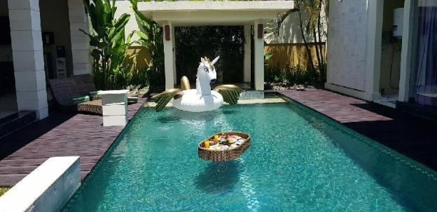 Big private pool 1BR villa in Seminyak