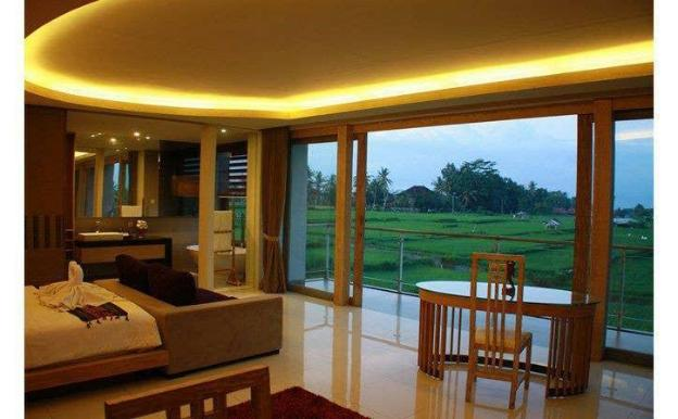 Peaceful 1BRoom Villa Field view in Ubud