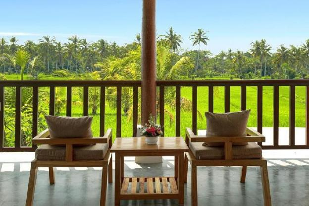 2BR Villa With Garden +Pool View at Ubud