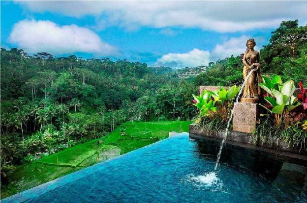 1BR Classy with Garden& Pool + River View@Ubud