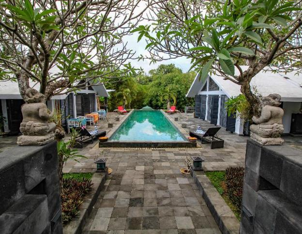 Le Mirage Villa Santai Private Luxury, chef/cafe