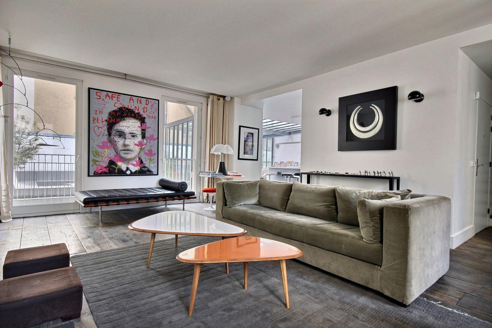 502254 - Spacious duplex apartment for 12 people near Les Halles